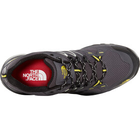 The North Face Hedgehog Fastpack GTX Shoes Men blackened pearl/acid yellow
